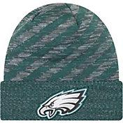 New Era Men's Philadelphia Eagles Sideline Cold Weather TD Green Knit