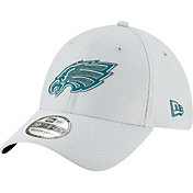 New Era Men's Philadelphia Eagles Sideline Training Camp 39Thirty Grey Stretch Fit Hat