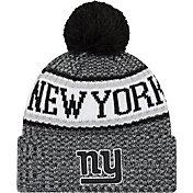New Era Men's New York Giants Sideline Cold Weather Reverse Black Sport Knit