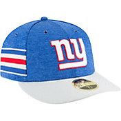 New Era Men's New York Giants Sideline Home 59Fifty Blue Fitted Hat