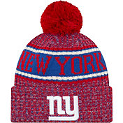 New Era Men's New York Giants Sideline Cold Weather Reverse Red Sport Knit