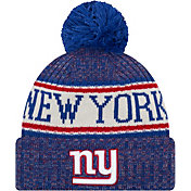 New Era Men's New York Giants Sideline Cold Weather Blue Sport Knit