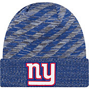 New Era Men's New York Giants Sideline Cold Weather TD Blue Knit