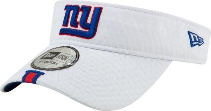 new style 23a84 9b151 New Era Men's New York Giants Sideline Training Camp Adjustable White Visor