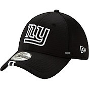 New Era Men's New York Giants Sideline Training Camp 39Thirty Stretch Fit Black Hat