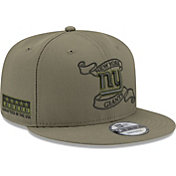 New Era Men's New York Giants Crafted in the USA Adjustable Olive Hat