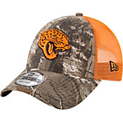 5597c4222 Product Image · New Era Men s Jacksonville Jaguars Real Tree 9Forty Orange  Camo Adjustable Trucker Hat