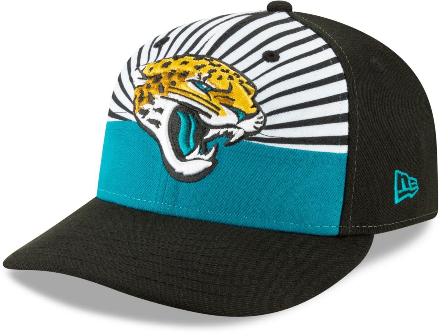 New Era Men's Jacksonville Jaguars 2019 NFL Draft 59Fifty Fitted Black Hat