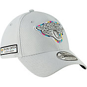 New Era Men's Crucial Catch Jacksonville Jaguars Sideline 39Thirty White Stretch Fit Hat