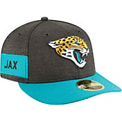 New Era Men's Jacksonville Jaguars Sideline Home 59Fifty Black Fitted Hat