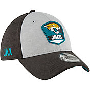 New Era Men's Jacksonville Jaguars Sideline Road 39Thirty Stretch Fit Hat