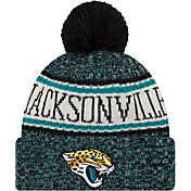 New Era Men's Jacksonville Jaguars Sideline Cold Weather Black Sport Knit