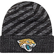 New Era Men's Jacksonville Jaguars Sideline Cold Weather TD Black Knit