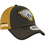 New Era Men's Jacksonville Jaguars Surge 9Forty Black Adjustable Hat