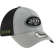 New Era Men's New York Jets 2Tone-Sided Graphite Stretch-Fit Hat
