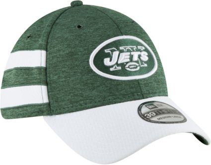 New Era Men s New York Jets Sideline Home 39Thirty Green Stretch Fit ... aba85adf009