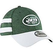 New Era Men's New York Jets Sideline Home 39Thirty Green Stretch Fit Hat