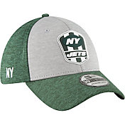 New Era Men's New York Jets Sideline Road 39Thirty Stretch Fit Hat