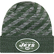 New Era Men's New York Jets Sideline Cold Weather TD Green Knit