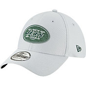 New Era Men's New York Jets Sideline Training Camp 39Thirty Grey Stretch Fit Hat