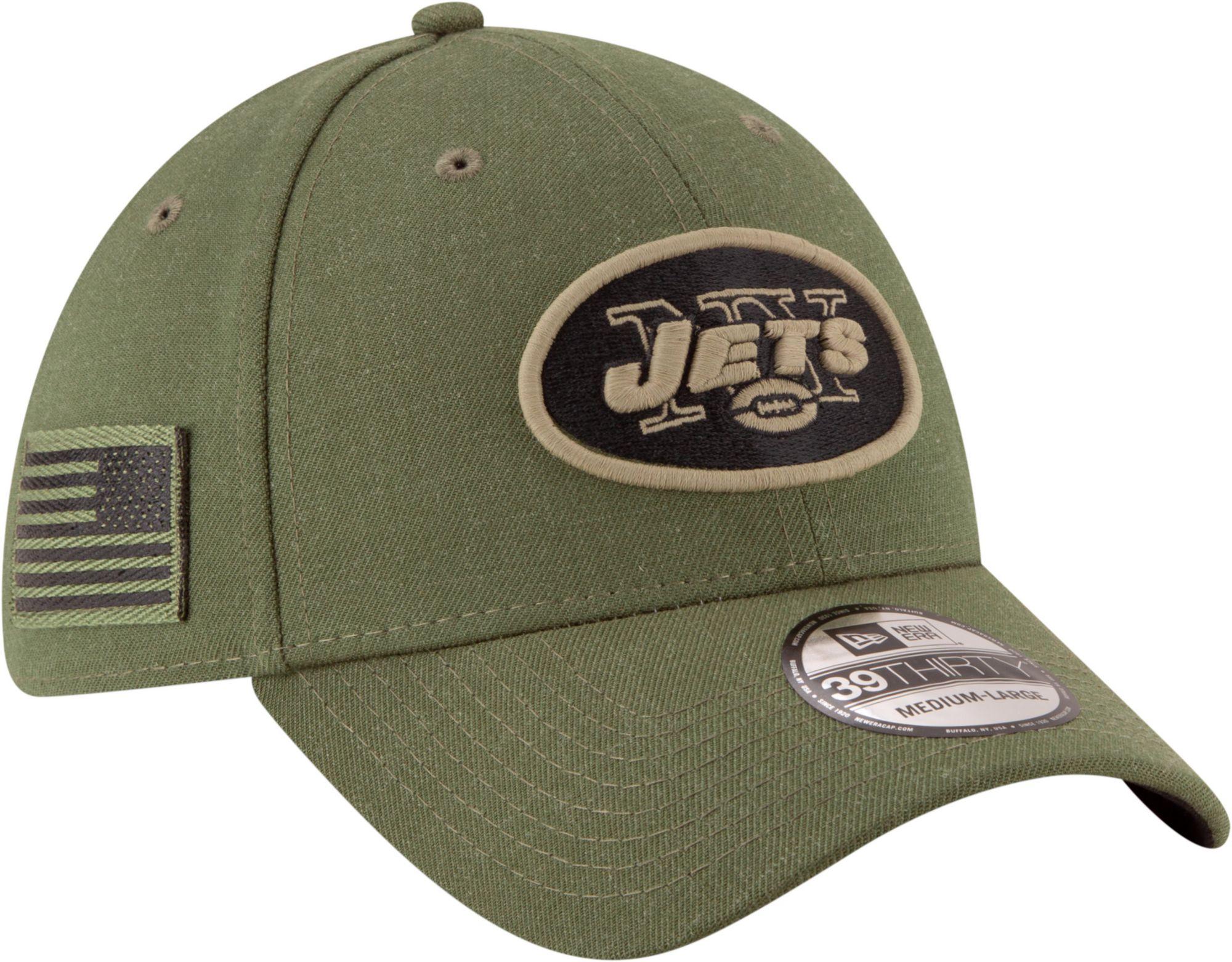 super popular 42d4f c2d0b ... amazon new era mens salute to service new york jets 39thirty olive  stretch fit hat 97b1f