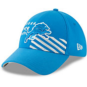 New Era Men's Detroit Lions 2019 NFL Draft 39Thirty Stretch Fit Blue Hat