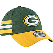 New Era Men's Green Bay Packers Sideline Home 39Thirty Green Stretch Fit Hat