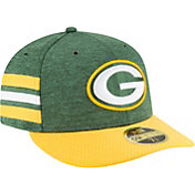 New Era Men's Green Bay Packers Sideline Home 59Fifty Green Fitted Hat
