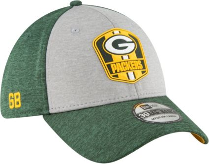 New Era Men s Green Bay Packers Sideline Road 39Thirty Stretch Fit ... 1d3f3ddcf11