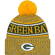 bddd8c8a9be Product Image · New Era Men s Green Bay Packers Sideline Cold Weather  Reverse Yellow Sport Knit