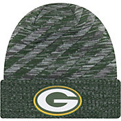 New Era Men's Green Bay Packers Sideline Cold Weather TD Green Knit