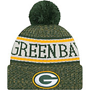 ef8953473 Product Image · New Era Men s Green Bay Packers Sideline Cold Weather Green  Sport Knit