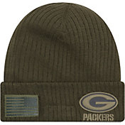 Product Image · New Era Men s Salute to Service Green Bay Packers Olive  Cuffed Knit fdebd2fb6
