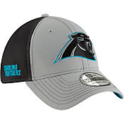 New Era Men's Carolina Panthers 2Tone-Sided Graphite Stretch-Fit Hat