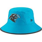 New Era Men's Carolina Panthers Sideline Training Camp Blue Bucket Hat