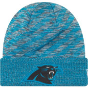 New Era Men's Carolina Panthers Sideline Cold Weather TD Blue Knit
