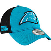 New Era Men's Carolina Panthers Surge 9Forty Blue Adjustable Hat