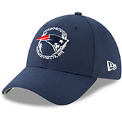 New Era Men's New England Patriots 2019 NFL Draft 39Thirty Stretch Fit Navy Hat