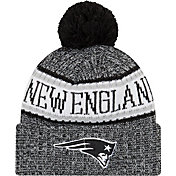 New Era Men's New England Patriots Sideline Cold Weather Reverse Black Sport Knit