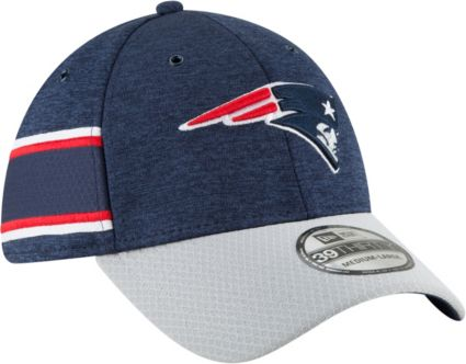 f25855504e8 ... inexpensive new era mens new england patriots sideline home 39thirty  navy stretch fit hat fc462 8c559 ...