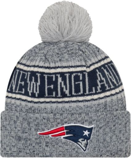 e09d31bc218 New Era Men s New England Patriots Sideline Cold Weather Reverse White Sport  Knit. noImageFound