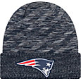 New Era Men's New England Patriots Sideline Cold Weather TD Navy Knit