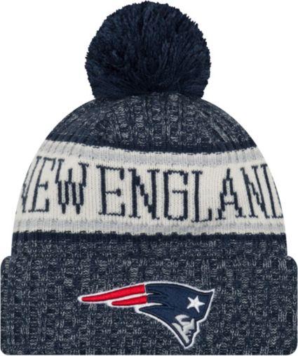 New Era Men s New England Patriots Sideline Cold Weather Navy Sport Knit.  noImageFound f1da077df8c1
