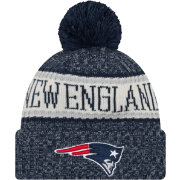 New Era Men's New England Patriots Sideline Cold Weather Navy Sport Knit