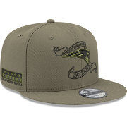 New Era Men's New England Patriots Crafted in the USA Adjustable Olive Hat