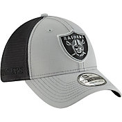 New Era Men's Oakland Raiders 2Tone-Sided Graphite Stretch-Fit Hat