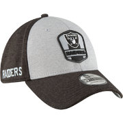 New Era Men's Oakland Raiders Sideline Road 39Thirty Stretch Fit Hat