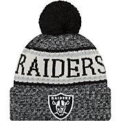 New Era Men's Oakland Raiders Sideline Cold Weather Black Sport Knit