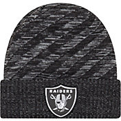 New Era Men's Oakland Raiders Sideline Cold Weather TD Black Knit