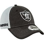 New Era Men's Oakland Raiders Surge 9Forty Black Adjustable Hat